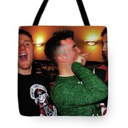 Pointing Tote Bag