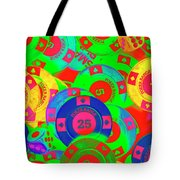 Poker Stacks Tote Bag