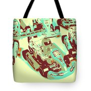 Poll Position Posterized Tote Bag