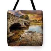 Pont Pen-y-llyn Bridge Snowdonia Tote Bag