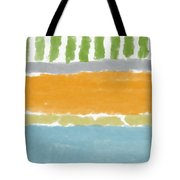 Poolside 1- Art By Linda Woods Tote Bag