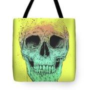 Pop Art Skull Tote Bag