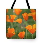 Poppies In The Breeze Tote Bag