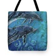 Porpoise Pair - Close Up Tote Bag