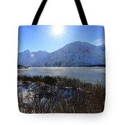 Portage Lake Alaska Tote Bag