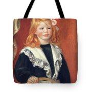 Portrait De Jean Renoir Tote Bag