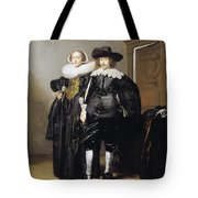 Portrait Of A Betrothed Couple  Tote Bag