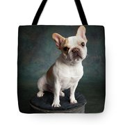 Portrait Of A French Bulldog Tote Bag