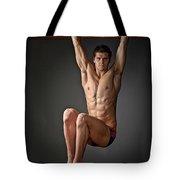 Portrait Of A Swim Prodigy. Tote Bag