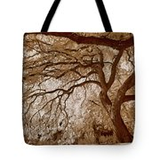 Portrait Of A Tree In Infrared Tote Bag