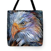Portrait Of A Watchful Eye Tote Bag