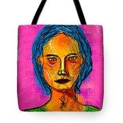 Portrait Of A Woman 1139 Tote Bag