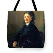 Portrait Of Anna Olsufyeva Tote Bag
