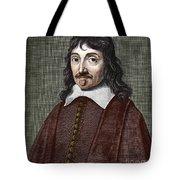 Portrait Of Descartes Tote Bag
