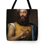 Portrait Of Giovanni Belzoni Tote Bag