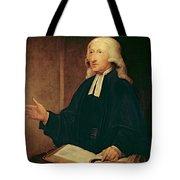 Portrait Of John Wesley Tote Bag