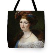 Portrait Of Josephine Victoire Meslier Duvey D  Tote Bag