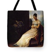 Portrait Of Laura Bro 1820 Tote Bag