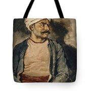 Portrait Of Mustapha Tote Bag