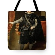 Portrait Of Philip Iv  Tote Bag