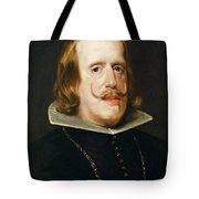 Portrait Of Philip Iv  King Of Spain  Tote Bag