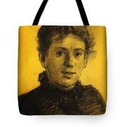 Portrait Of Tatyana Tolstaya Leo Tolstoy Daughter Tote Bag