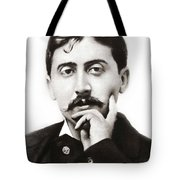 Portrait Of The French Author Marcel Proust Tote Bag