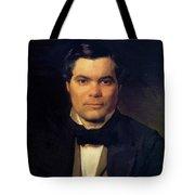 Portrait Of Yakov Merkulov Tote Bag