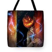 Posthumous Pumpkin Tote Bag