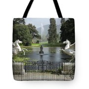 Powerscourt House Terrace And Fountain Tote Bag