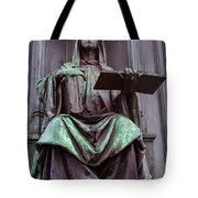 Prague Statue Tote Bag