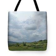 Prairie Sky In July Tote Bag