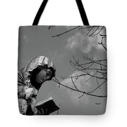 Prayer Tote Bag by Edward Lee