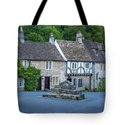 Pre-dawn In Castle Combe Tote Bag by Brian Jannsen