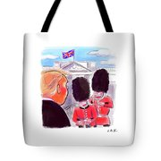 Presidential Visit To The Uk Tote Bag