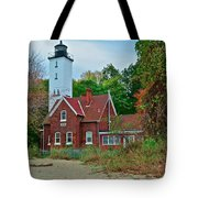 Presque Isle Lighthouse Tote Bag