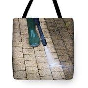 Pressure Washing Specialist At Lake Nona  Tote Bag