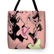 Pretty Lady Tote Bag by Dan Sproul