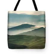 Pretty Morning In Toscany Tote Bag