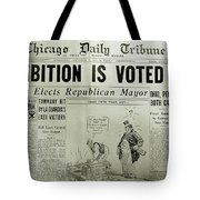 Prohibition Voted Out Tote Bag