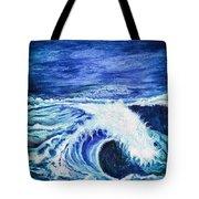 Promethea Ocean Triptych 1 Tote Bag