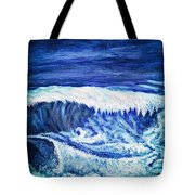 Promethea Ocean Triptych 2 Tote Bag