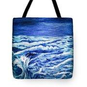 Promethea Ocean Triptych 3 Tote Bag