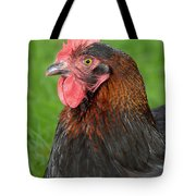 Proud Cockerel Tote Bag