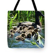 Proud Mother Duck Tote Bag
