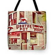 Provincetown Tradition Lobster Pot Tote Bag