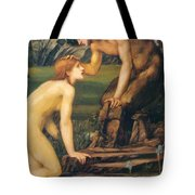 Psyche And Pan 1874 Tote Bag