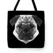 Pug's Face Tote Bag