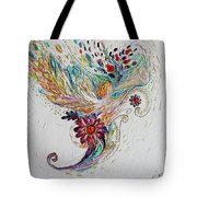 Pure Abstract #4. Trumpeting Angel Tote Bag