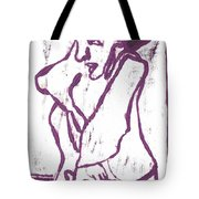 Purple Chef Tote Bag